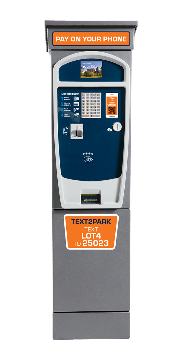 T2 Luke Cosmo Pay Station with MobilePay graphics