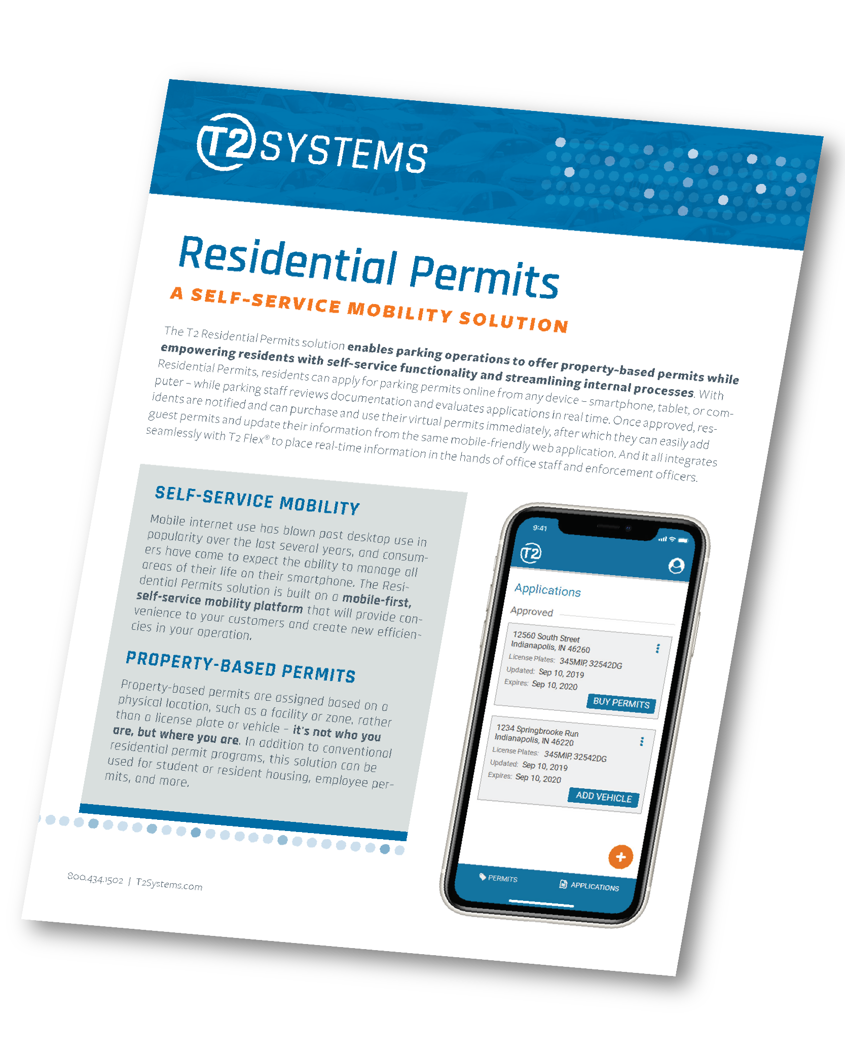 T2 Residential Permits information sheet